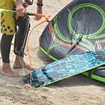 kite school lanzarote with Refresh Kitesurfing Lessons