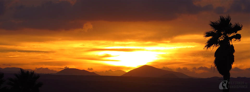 sunset-in-Lanzarote
