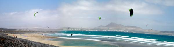 kite school lanzarote at famara kite beach